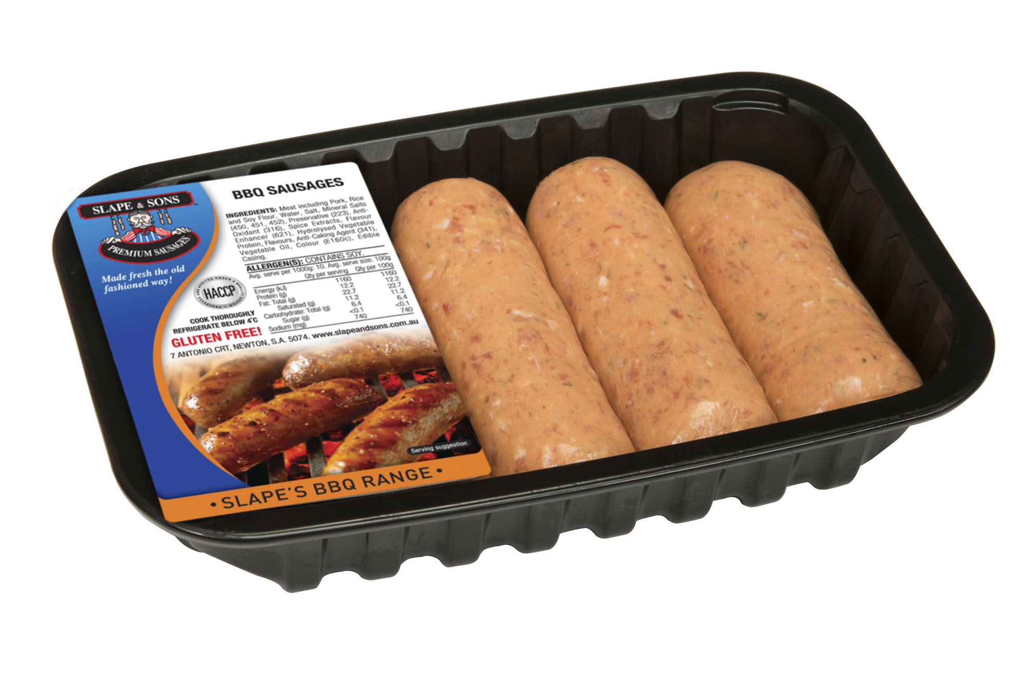 Slape and Sons - BBQ Sausages Large
