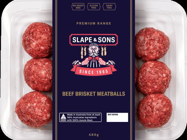Beef Brisket Meatballs
